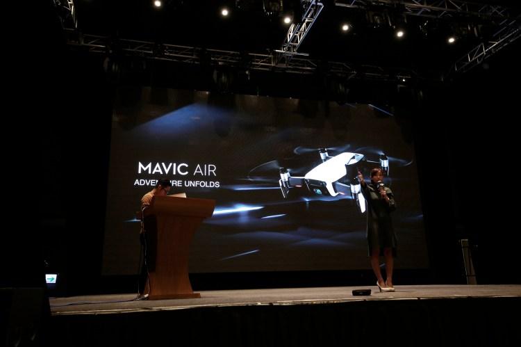 手勢控制更精準 DJI 大疆 Mavic Air 專業便攜空拍機|台灣區發表會