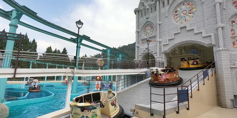 南投景點》 九族文化村「西班牙海岸」 全新體驗森林水樂園 |櫻花祭、空中纜車、日月潭