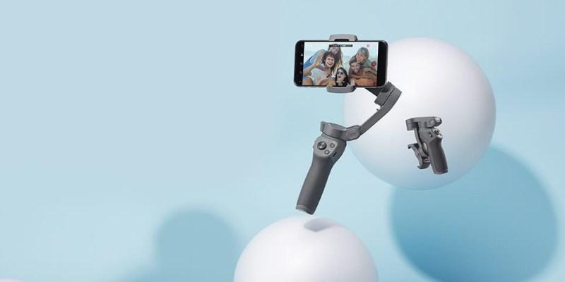 隨手掌控 DJI OSMO Mobile 3 正式發表|可摺疊收納 輕巧便攜
