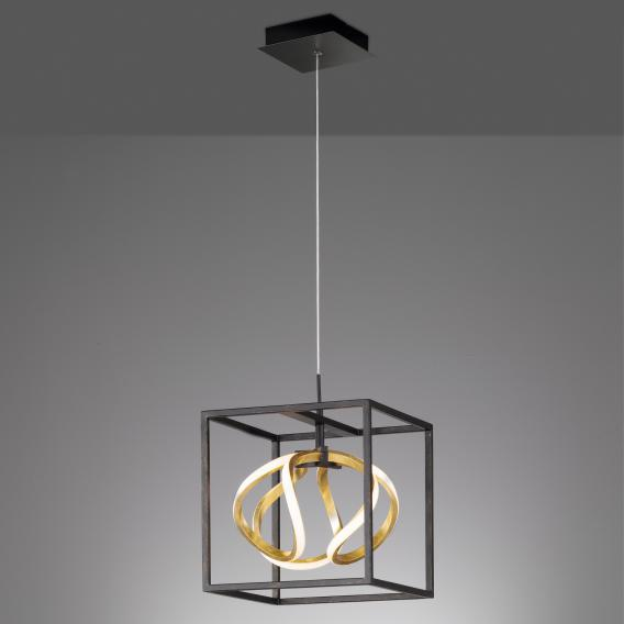 fischer honsel gesa led pendant light with dimmer