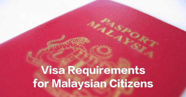 Malaysian Visa Free Countries (with downloadable PDF file)