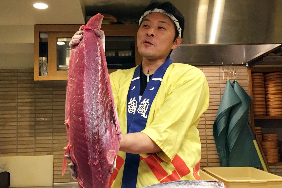 1-Day Huge Tuna Show Food Tour