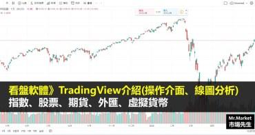 看盤軟體》TradingView介紹(操作介面、線圖分析) 指數、股票、期貨、外匯、虛擬貨幣