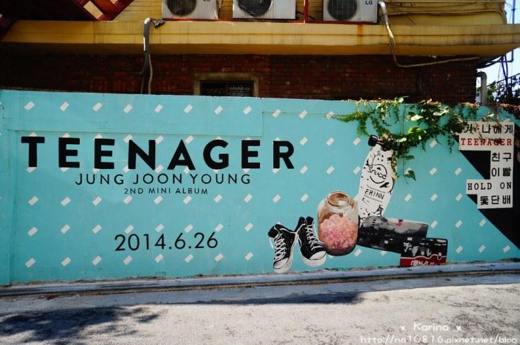 【遊記*韓國】首爾 弘大散散步 塗鴉街、藝術街、畢卡索街!~疑!?瑪莉是誰?