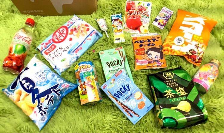 日本零食宅配    7月份開箱報告!! WOWBOX 日本主題零食驚喜箱 日本直接空運到家~