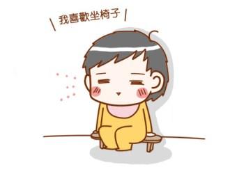 ★【1Y4M】小泡菜有沒有這麼愛坐椅子!