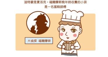 【邀稿】福爾摩斯再現江湖! 貝克街 謎─巧克力蛋糕