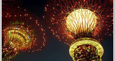 新加坡超級樹 如夢似幻的阿凡達世界 小坡咖啡館