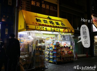 激!日本超便宜藥妝店!不買可惜!京都 新極京藥妝店、居酒屋小街 先斗町