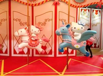 HELLO KITTY GO AROUND 歡樂嘉年華 台北 圓山 花博  逛展攻略包