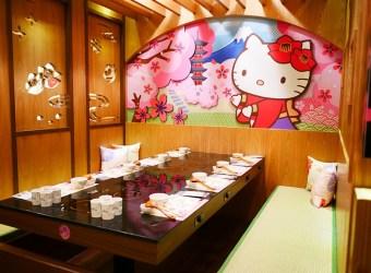 │Hello Kitty│火鍋二號店 (南京)小巨蛋  Shabushabu 有日本合式包廂 來跟Kitty吃美味火鍋