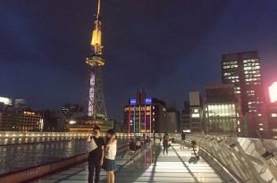名古屋景點│名古屋塔 x Oasis 21(綠洲21) 登上日本第一電視塔看夜景