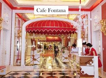 澳門親子行 永利皇宮早餐/咖啡苑Cafe Fontana 豪華皇宮的自助早餐