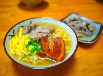 沖繩美國村美食 超美味的沖繩麵就在這裡!浜屋沖繩麵 2019