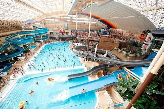 福島親子行  Spa Resort Hawaiians夏威夷度假村 日本東北最大的水上樂園