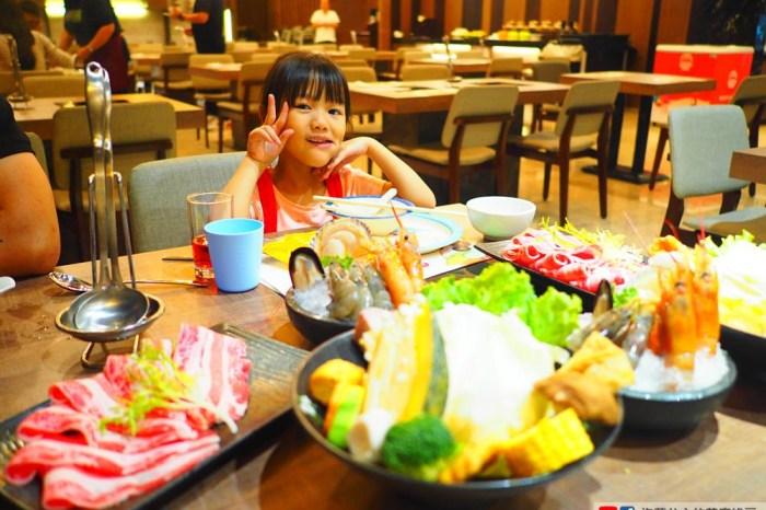親子友善飯店 松風文旅 晚餐 松饌餐廳火鍋 點肉盤就送海鮮拼盤!