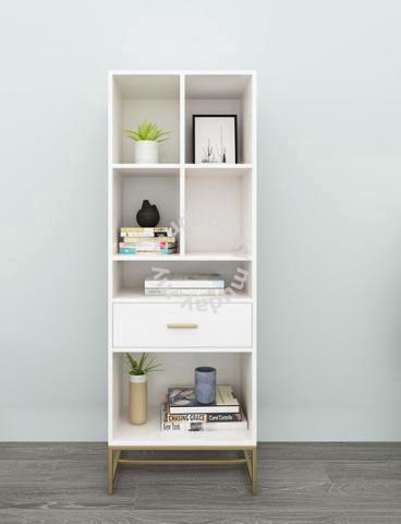 white book rack storage rack 140cm nsw furniture decoration for sale in petaling jaya selangor mudah my