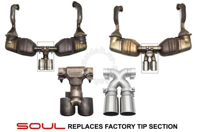 soul performance cayman boxter 987 2 981 exhaust car accessories parts for sale in glenmarie selangor mudah my