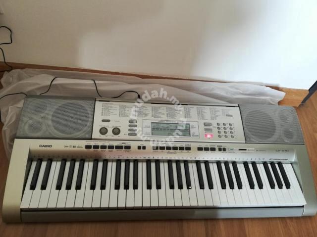 casio key lighting keyboard lk 270 music instruments for sale in batu caves selangor mudah my