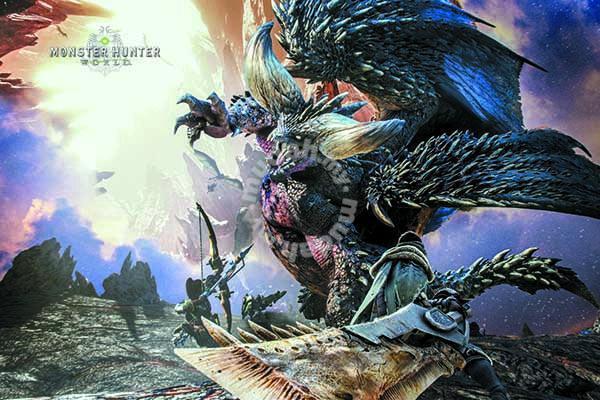 poster monster hunter 2