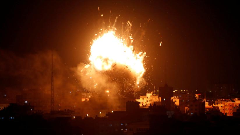 Israel destruye la sede del principal canal de televisión de Gaza tras ataques de Hamás
