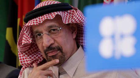 El Ministro de Energía de Arabia Saudita, Khalid al Falih