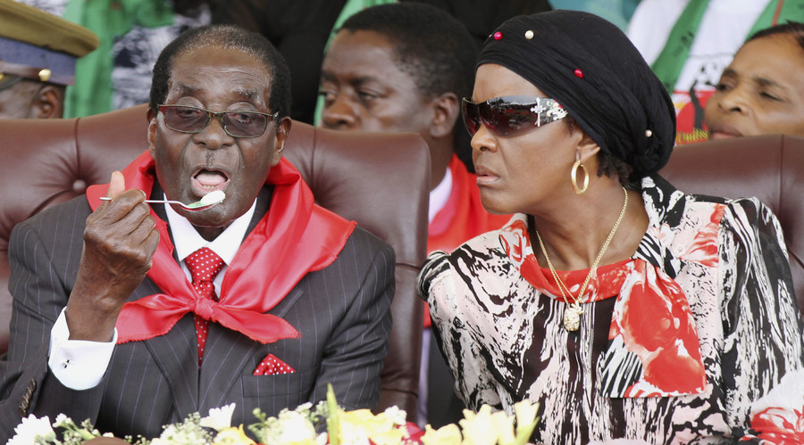 Image result for Mugabe wife