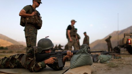 Afghans too busy fighting Taliban to train, says US general