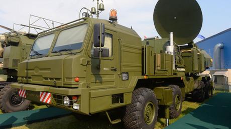 A ground-based, unified electronic warfare (EW) system at the MAKS-2015 International Aerospace Salon in Zhukovsky near Moscow. © Mikhail Voskresenskiy