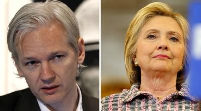 Resultado de imagen para wikileaks hillary