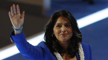 Rep. Gabbard calls on US govt to stop 'supporting terrorists' after meeting Syria civilians & Assad