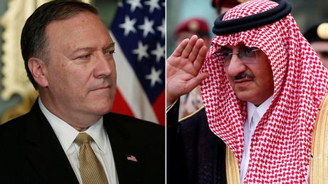 CIA awards Saudi prince medal for anti-terror efforts