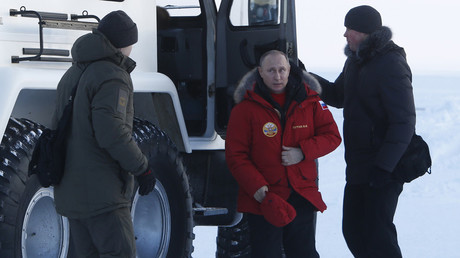Putin says 'welcome' to US business in Russia, offers to work in Arctic jointly