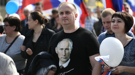 Putin tops latest polls by wide margin