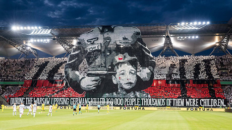 UEFA charges Polish club over Nazi banner at Champions League game