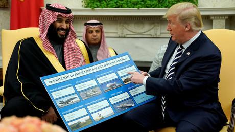 US President Donald Trump and Saudi Arabia's Crown Prince Mohammed bin Salman, Washington, US, March 20, 2018 © Reuters / Jonathan Ernst