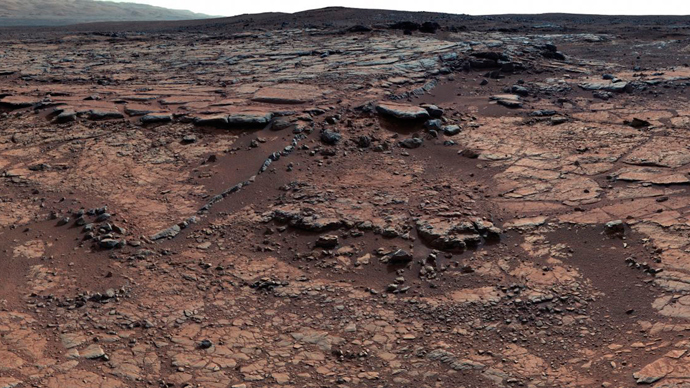 NASA's Mars Curiosity rover shows geological members of the Yellowknife Bay formation on Mars (Reuters / NASA)