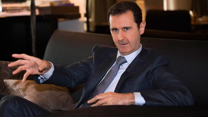Syria's President Bashar al-Assad.(Reuters / SANA)