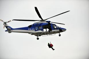 Police bought a new transport helicopter