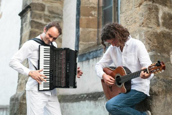 Borut Mori in Andrej Ofak. Foto: Nika Hölcl Praper