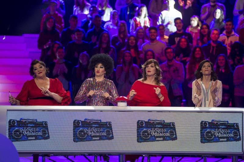 Charo Reina, la Terremoto de Alcorcón, Belinda Washington e Irene Visedo también participan en 'El gran reto musical'