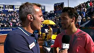 "Ver vídeo  'Fognini: ""Si no se juega a este nivel es imposible ganar a Rafa""'"
