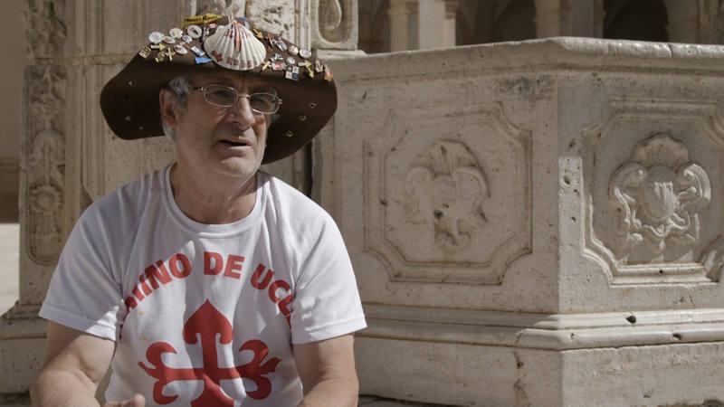 Manuel Rossi será uno de los peregrinos que Marta se encontrará en el primer tramo del Camino