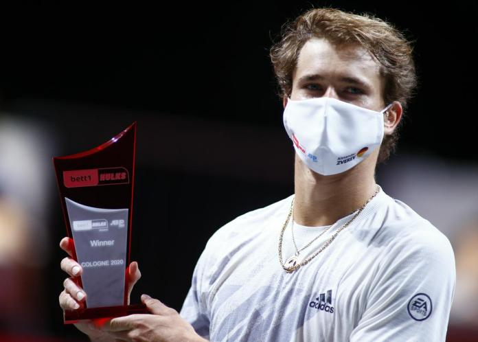 Zverev won the last tournament last year in Geneva.  Photo: Reuters