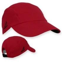 head sweats race hat - red