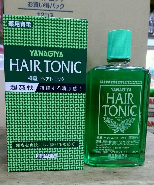 愛麗小舖※日本 柳屋 Yanagiya HAIR TONIC 髮根營養液 240ml - 露天拍賣