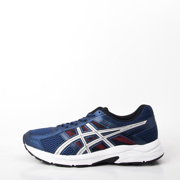 Asics GEL-CONTEND 4 (4E) 寬楦 慢跑鞋 大尺碼 T715N-400 現貨 - 露天拍賣
