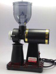 ≋咖啡流≋ AKIRA 半磅電動磨豆機 黑色 M-520A 義大利進口鋼刀磨盤 - 露天拍賣