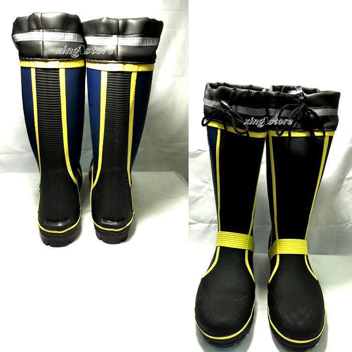 現貨[安全工作雨鞋] ER201 束口型安全雨鞋-鋼片鞋底防穿刺~工作鞋~男長筒雨鞋~鋼頭雨鞋~安全雨鞋 - 露天拍賣