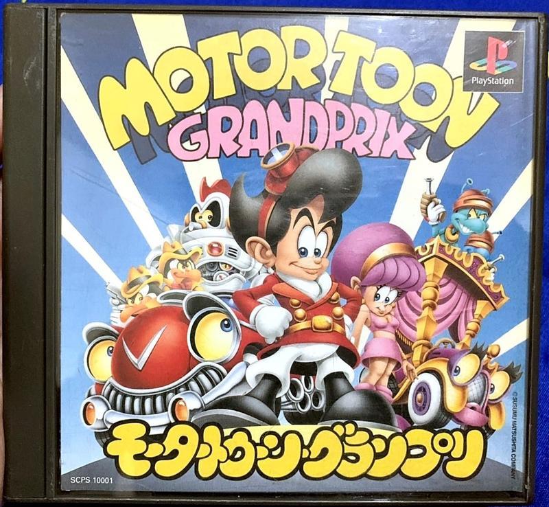 幸運小兔 PS遊戲 PS 卡通賽車 Motor Toon Grand Prix PlayStation 日版 E6 - 露天拍賣